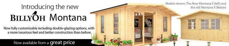 BillyOh Montana Log Cabin - Summerhouses