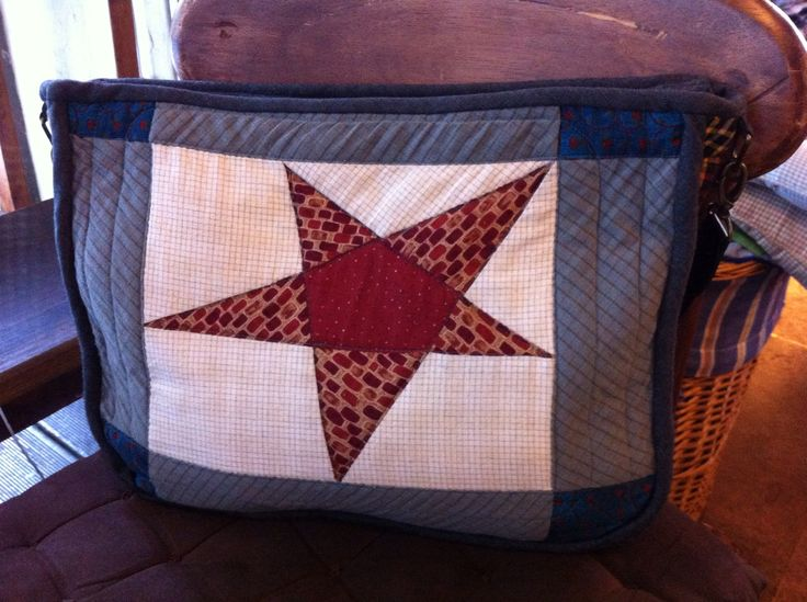 The Star-Spangled Banner quilt bag
