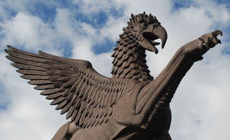 griffin sculpture - Google Search