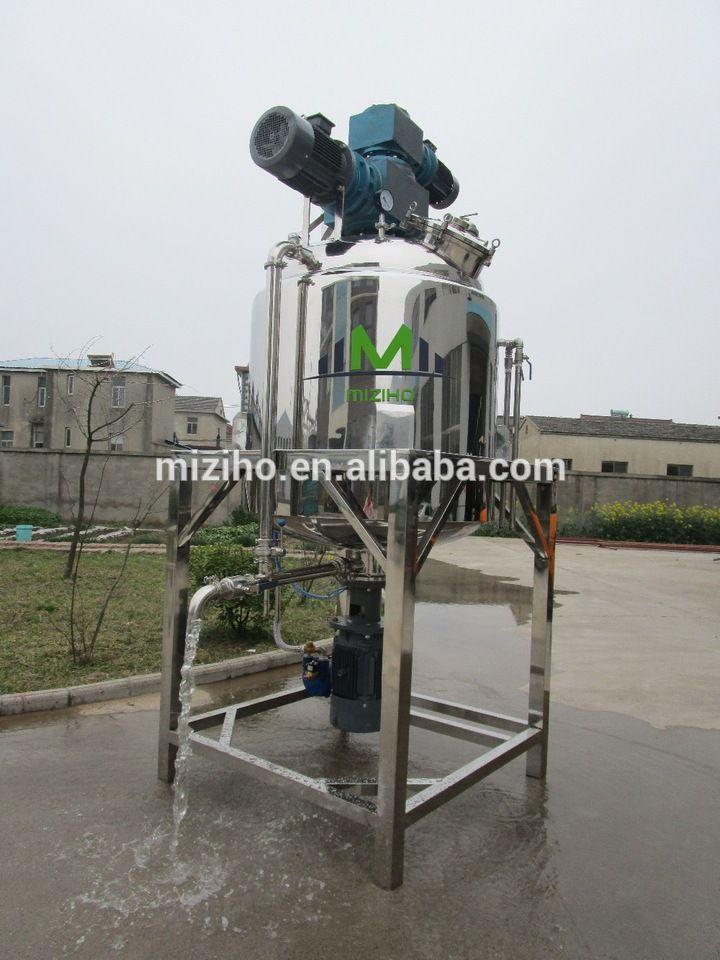 MZH-V Automatic vacuum homogenizing emulsifier/cake gel emulsifier making machine/chemical machinery equipment