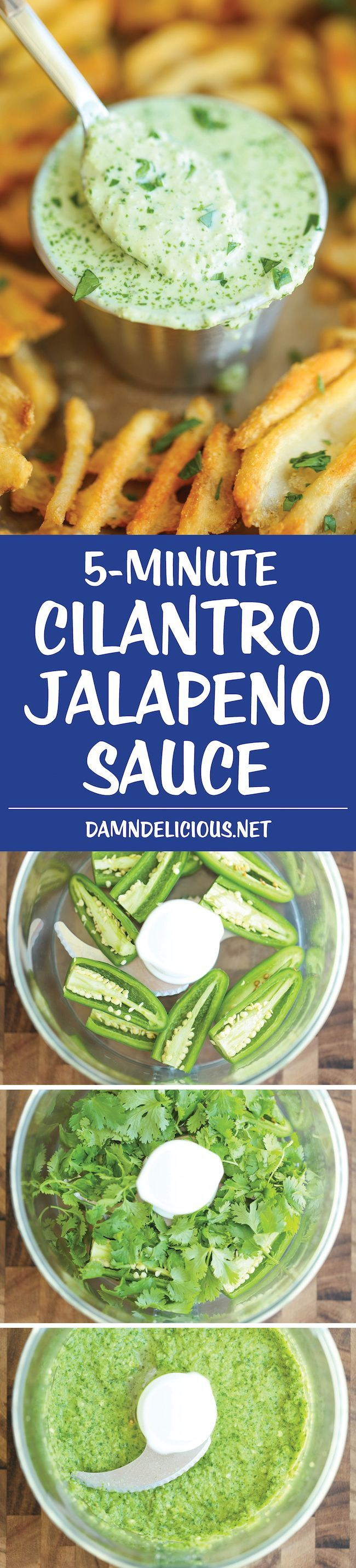 The easiest 5 min sauce ever. And you can use this on anything - from grilled meats to fries and even chips for dipping!