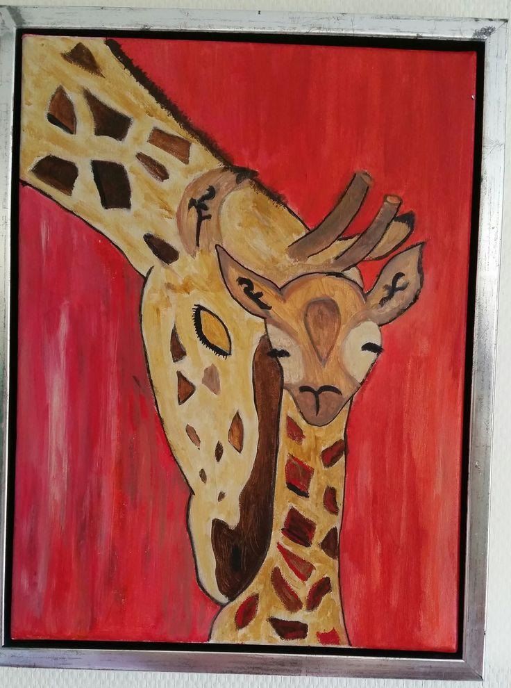 Akrylmaleri 30 x 40