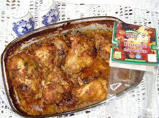 W Mojej Kuchni Lubię.. : udka kurczaka na dziko w jogurcie z piekarnika...