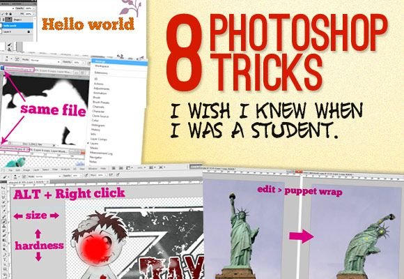 8 Photoshop Tricks That Will Help You
