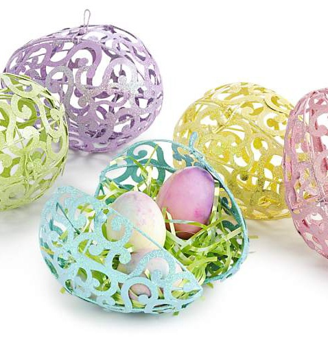 106 best pier 1 images on pinterest rabbits beach ball party pier 1 scroll easter eggs are hinged so they can hold small gifts or candy negle Gallery