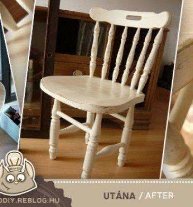 Aging technique with sanding (furniture painting tip) // Antikolás (öregítés) visszacsiszolással - bútorfestés tipp // Mindy - craft & DIY tutorial collection