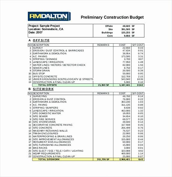 Residential Construction Budget Template Excel Beautiful 13 Excel Bud Template Mac Excel Budget Template Budget Spreadsheet Template Budget Template