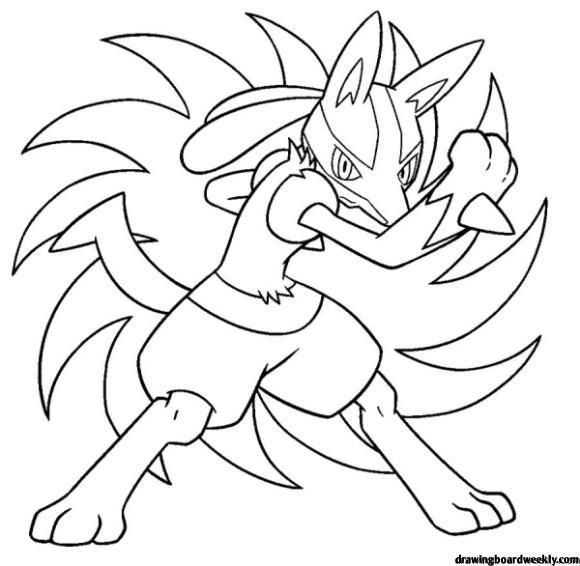 Lucario Coloring Page Horse Coloring Pages Pokemon Coloring Pages Pokemon Coloring