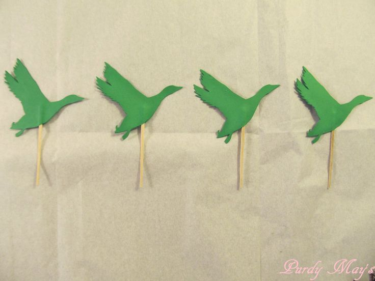 Duck Cupcake Toppers, Duck Cupcake Picks, Brown or Choice of Color Ducks, Set of 12 by PurdyMays on Etsy https://www.etsy.com/listing/451773272/duck-cupcake-toppers-duck-cupcake-picks