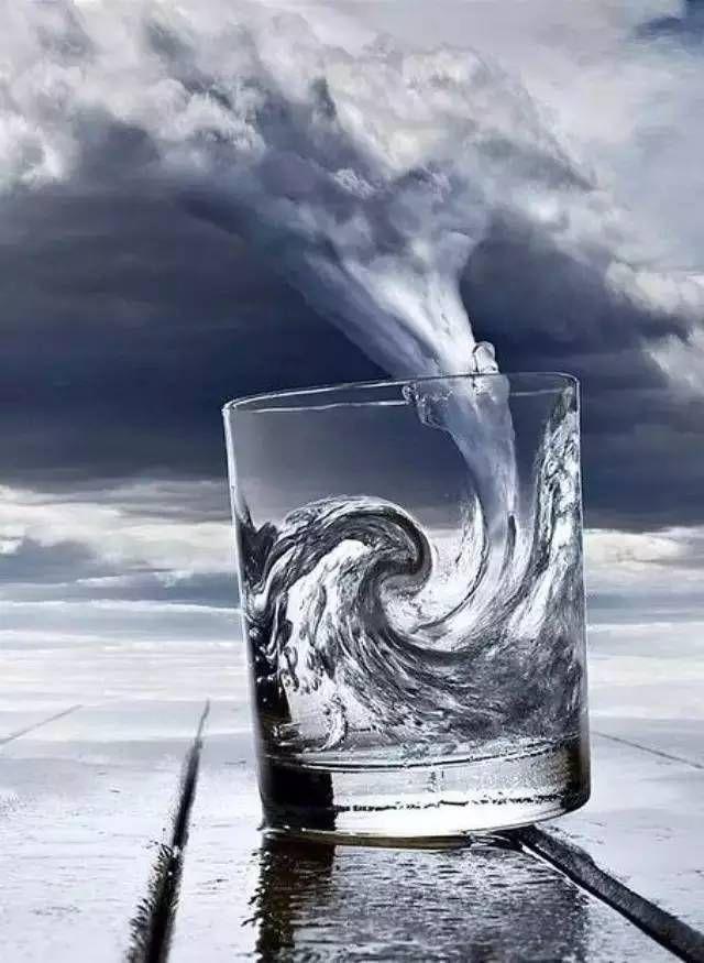 35. El poder del cielo y el mar en un vaso