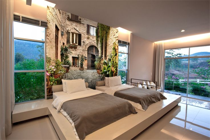 Your room can look like this. With a little effort anything is possible. www.wallpaper24.co.uk