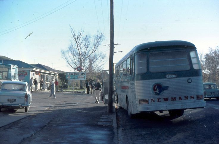 Newmans bus.  Cheviot, New Zealand c 1970s | by Yvonne Thompson