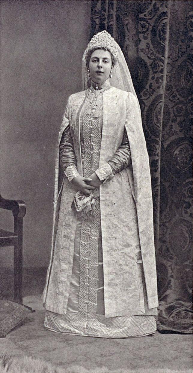 Princess Maria Constantinovna Beloselskaya-Belozerskaya at the Winter Palace Costume Ball of 1903. Maria was lady-in-waiting to Alix....154 by klimbims on deviantART