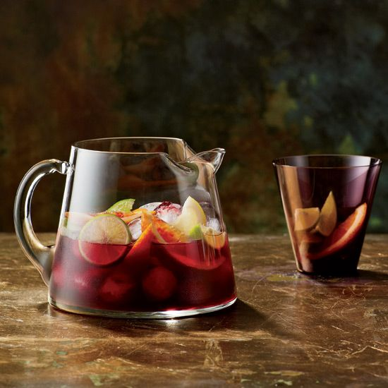 Red Sangria | Although Spaniards and Portuguese have been drinking sangria for centuries, the brandy-spiked drink didn't make an official appearance in the United States until 1964, at the World's Fair in New York City.