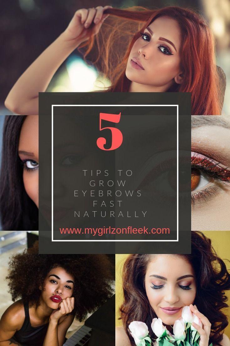 Eyebrows On Fleek - 5 Tips to Grow Your Eyebrows Fast ...