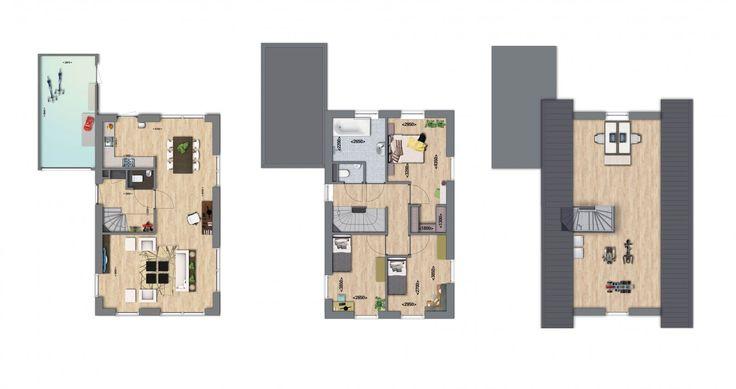 Meer dan 1000 afbeeldingen over huis indeling op Pinterest