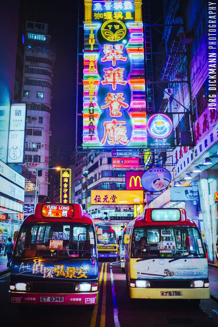 Kowloon Mini Bus by Jörg Dickmann Photography on 500px