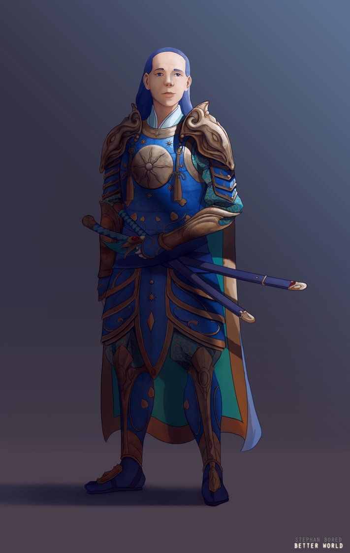 Azure Guardian by StephanBored.deviantart.com on @DeviantArt
