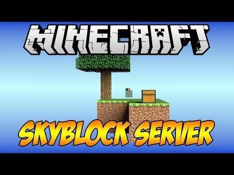 Minecraft OPSkyblock Server Tanıtımı - 8 Demir Sp Hediye