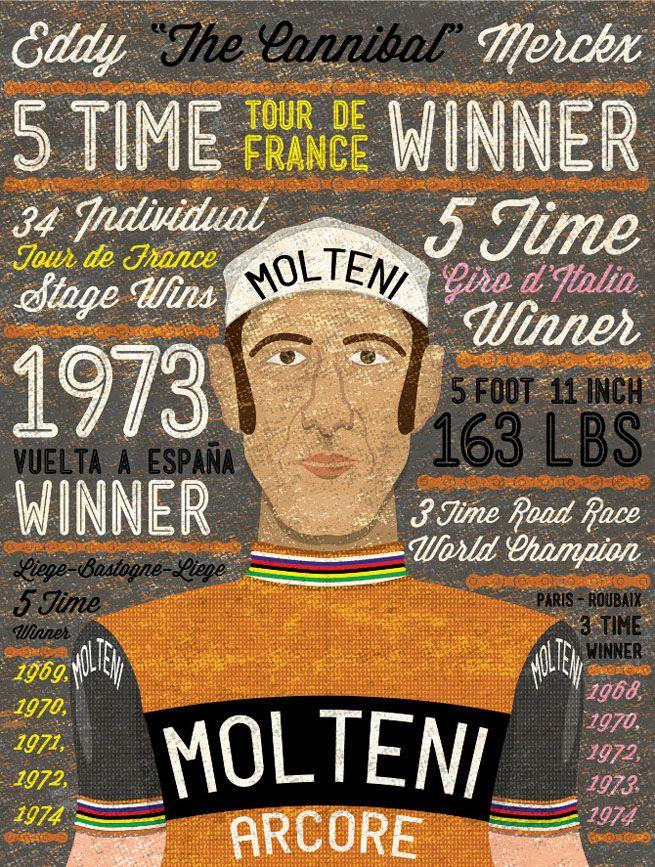 Eddy Merckx #eddymerckx #bikes #cycling #history #molteni #tourdefrance …