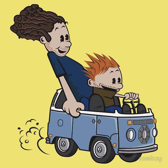 Hurley and CharlieCharli Cartoons, 4815162342, Feelings Lost, Lost Meeting, Fangirl, Lost 3, Charlie Cartoons, Meeting Calvin, Calvin And Hobbes