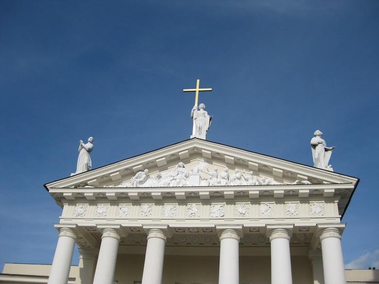 Architectural Detail, Church, Vilnius