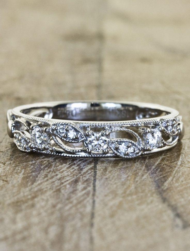 Vintage Wedding Ring – Diamond Jewellery Design Ideas - HoliCoffee