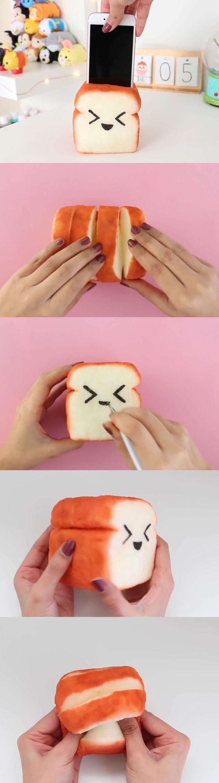 Toast Squishy/Phone holder Part 4 Nim C