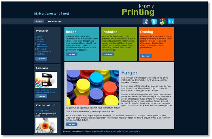 Kreativ printing