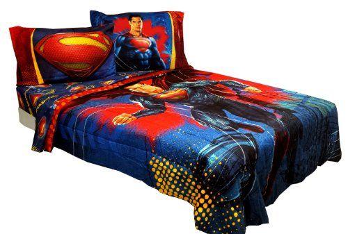 Youth Kids Bedroom Batman Dark Knight Twin Size Platform: 1000+ Ideas About Superman Bed On Pinterest