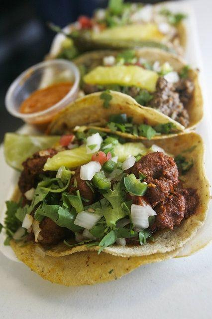al pastor tacos ;p