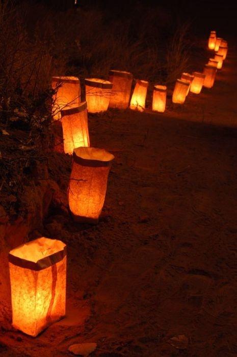 .Pathway lights