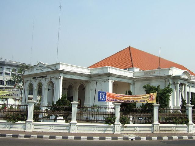 The Unique Features of the #Jakarta Arts Theater #Indonesia