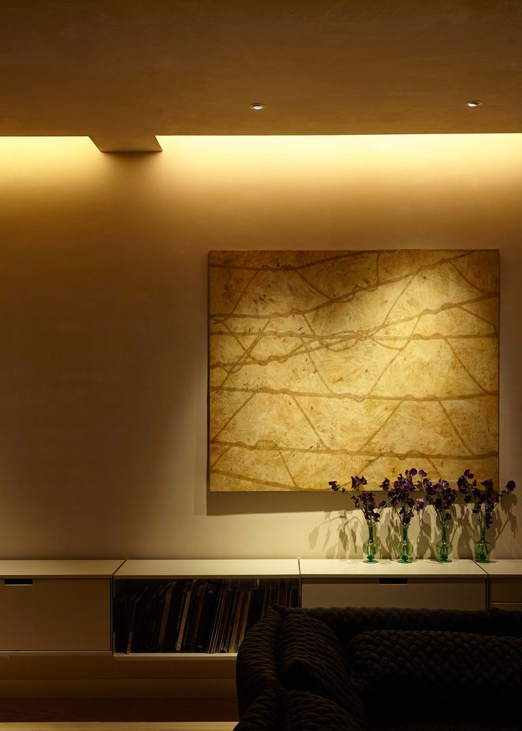 Enhance your artwork with lighting. Here we have LED downlights creating a focus on the : best lighting for artwork - azcodes.com