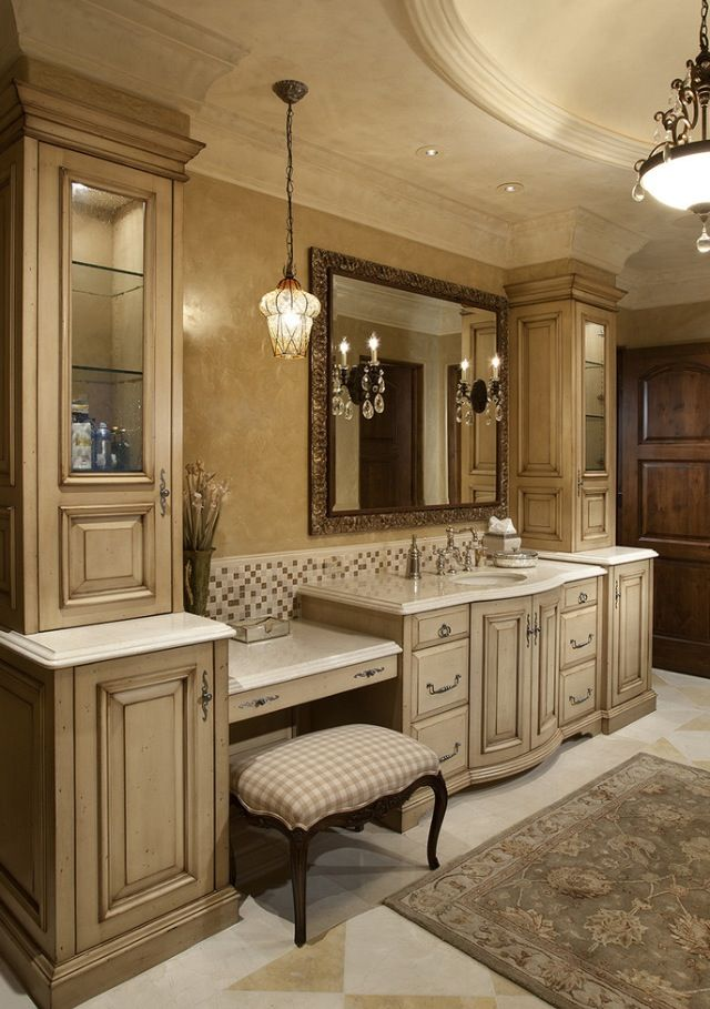 Luxury bathrooms luxurydotcom my top pins for Custom bathroom vanity designs