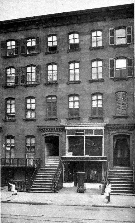 The 21st President from (c.1881- c.1885) of the United States - Chester A. Arthur (c.1825-c.1886) Photographed here, his home, at 123 Lexington Avenue, NYC. He was inaugurated, and took the Oath of Office here, at his residence. To become the next Gilded Age President, after President Garfield's assassination. ~~ {cwl}