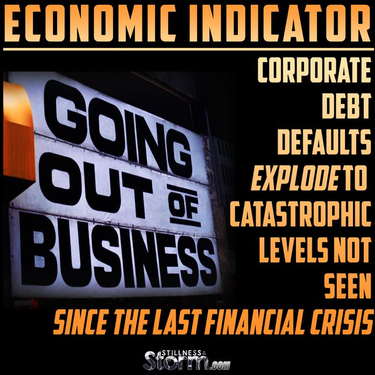 Economic Indicator | Corporate Debt Defaults Explode To Catastrophic Levels Not Seen Since The Last Financial Crisis