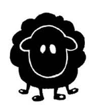 Image result for images of cartoon black sheep
