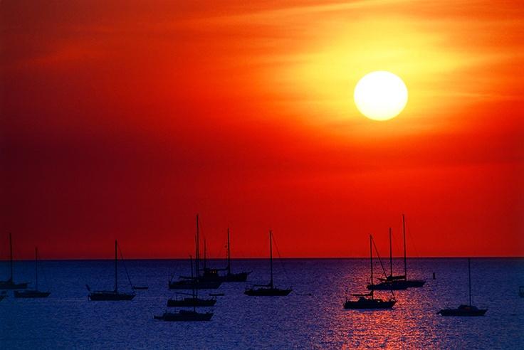 Incredible...sunset in Darwin #Australia