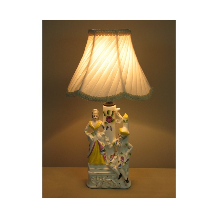 47 best lamp shade gallery images on pinterest lamp shades small vintage table lamp with victorian lamp shade the courtship 0410 aloadofball Choice Image