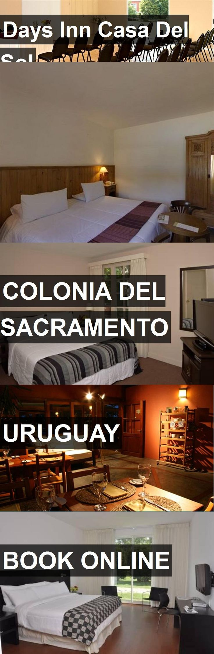 Hotel Days Inn Casa Del Sol in Colonia Del Sacramento, Uruguay. For more information, photos, reviews and best prices please follow the link. #Uruguay #ColoniaDelSacramento #travel #vacation #hotel