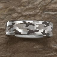 Kelly Herd Sterling Silver Camo Ring