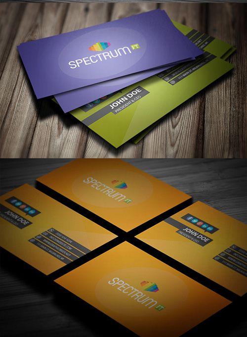 Modern Business Card Design #businesscards #businesscardsdesign