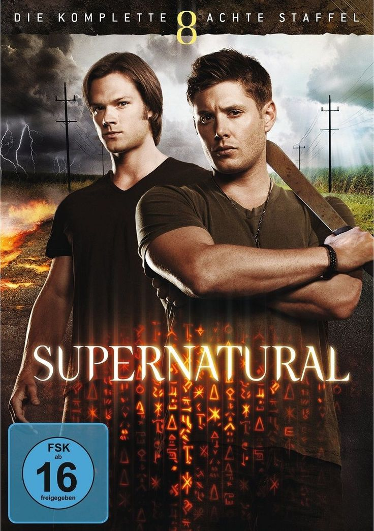 Supernatural Staffel Season 8 Komplett Neu OVP 6 DVDs 5051890287991 | eBay