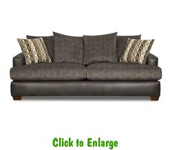 East Gunmetal Sofa By Corinthian At Furniture Warehouse | The $399 Sofa  Store | Nashville,