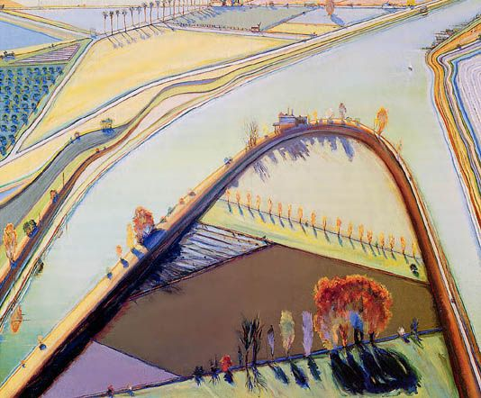 Wayne Thiebaud in 2019   landscapes   Pinterest   Wayne thiebaud, Art and  Landscape paintings - Wayne Thiebaud In 2019 Landscapes Pinterest Wayne Thiebaud