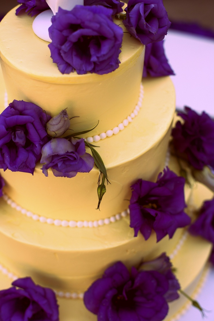 purple and yellow wedding cake ideas 17 best images about purple amp yellow on yellow 18887