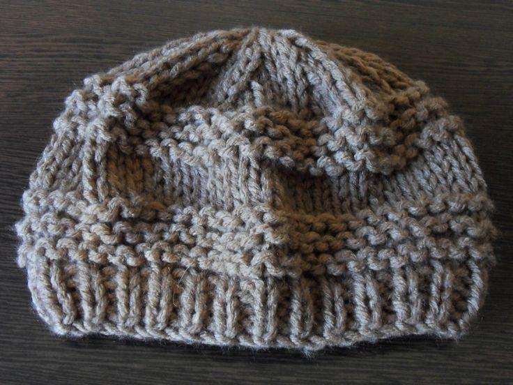 Trictoter un bonnet (très facile, accessible aux débutants!)