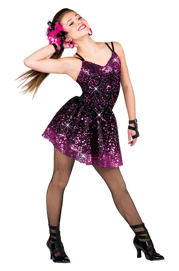 Dance Sparkly Costume  Dance-7506