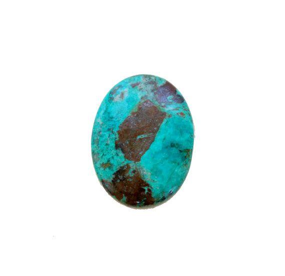 Chrysocolla oval cabochon 50.60 carat by SARAHHUGHESfinegems